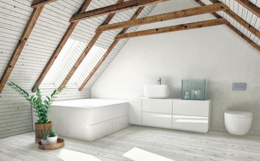 Learn how to add value to your home before selling through loft ensuite bathroom conversions