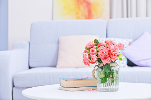 flowers to make your home look more expensive