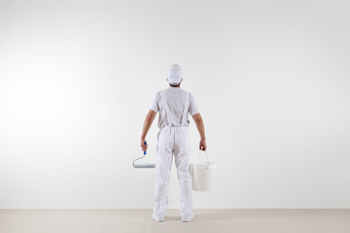 repainting your walls to make your home look more expensive